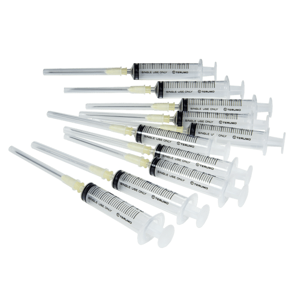 Bresle Syringes for use with the Bresle Patches in the Bresle Patch Test
